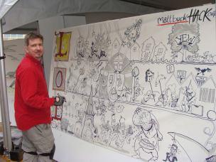 Matt Buck drawing more than anyone else