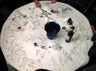 table-conga-cartoon